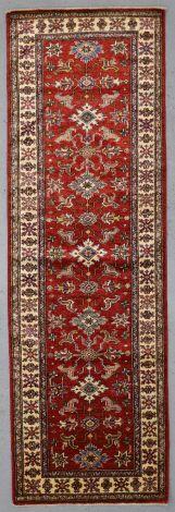 Super Kazak Fine Tribal Runner 260 x 83 cm