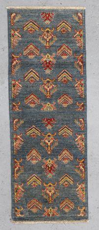 Kazak Tribal Hall Runner 162 x 60 cm