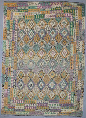 Misty Tribal Killim 374 x 274 cm