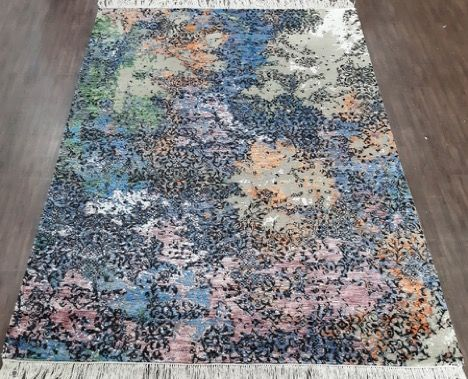 Transitional Abstract rug 243 x 172 cm