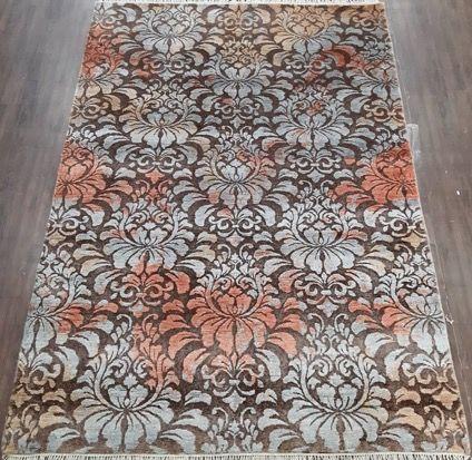 William Morris style rug  209 x 140 cm