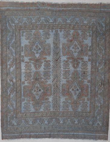 Mushvani Wool on Wool Tribal Rug 258 x 207 cm