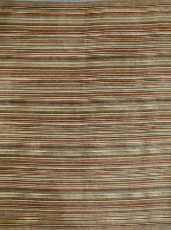 Multi Stripe Gabbeh Rug 369 x 307 cm