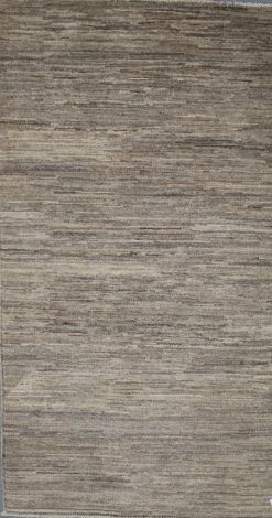 Contemporary Soft Toned Gabbeh wool rug - 149 x 90 cm