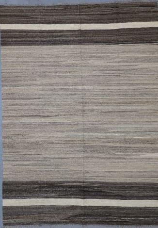Simple Striped Killim 247 x 158 cm