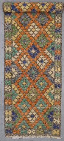 Choobi Killim Garden Lattice 395 x 86 cm