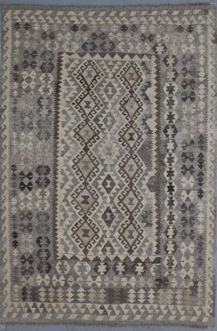 Tribal Killim Natural wool 242 x 165 cm