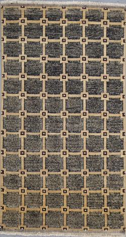 Profile Gabbeh Hand knotted rug 160 x 88 cm