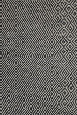 Diamond black/light Brown 290 x 200 cm