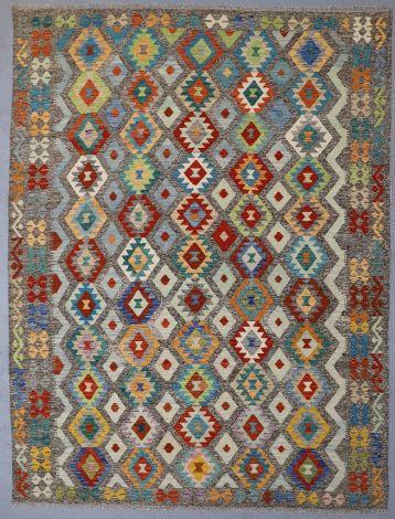 Starburst Afghan Tribal rug 344x262