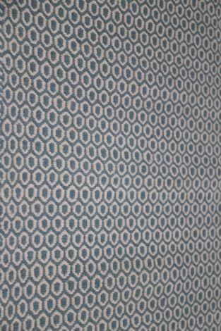 RA1000 Blue and White Flatweave Wool Rug 300 x 250 cm