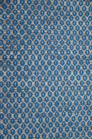 Repeating pattern Pure wool hand-loomed area rug 300 x 250 cm